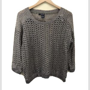 DKNY Foil Printed Sweater